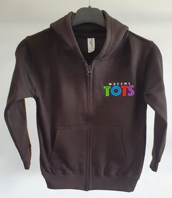 Child's Zip Hoodie with TOTS Logo 1